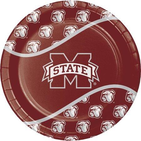 Mississippi State University Paper Plates,