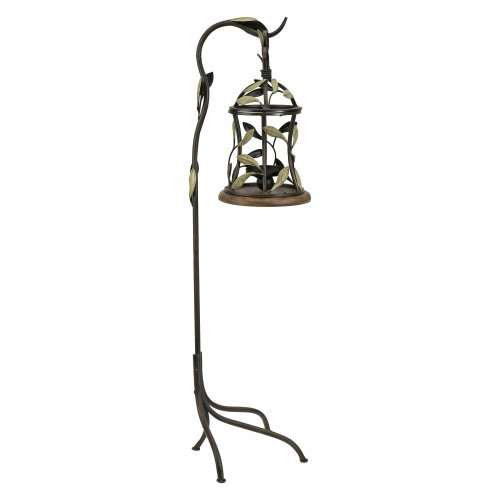 Tulina Hanging Candle Lantern on Stand