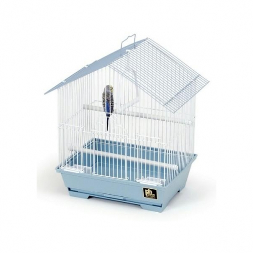 "Prevue Pet Products 15"" House Style Parakeet Slant Roof Cage"