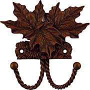 Sierra Lifestyles Decorative Wall Mounted Maple Leaf Hook