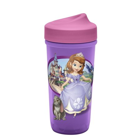 Zak Designs Toddlerific Perfect Flo Toddler Cup with Sofia The First, No-Spill](Sofia The First Cups)