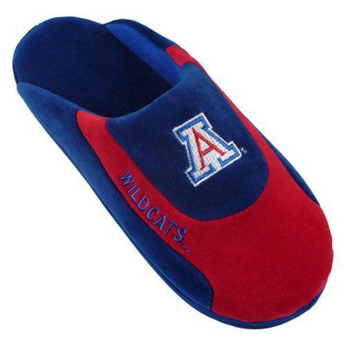 Comfy Feet NCAA Low Pro Stripe Slippers - Arizona Wildcats