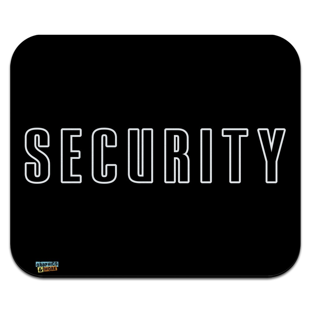 Security Low Profile Thin Mouse Pad Mousepad