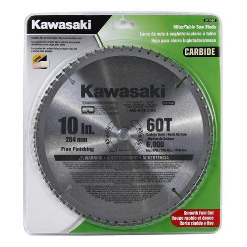 Kawasaki  841690  Circular Saw Blades  Cutting Accessories  10 Inch