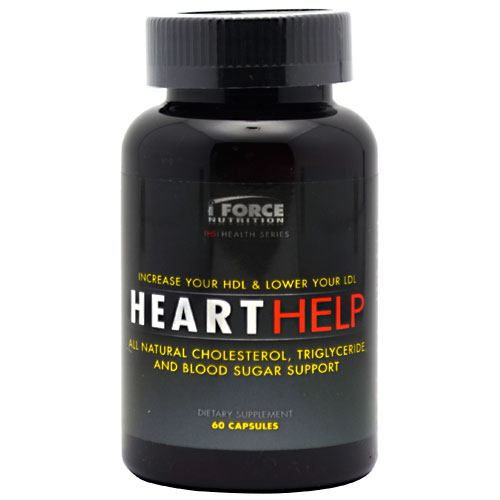 iForce Nutrition Heart Help - 60 Capsules
