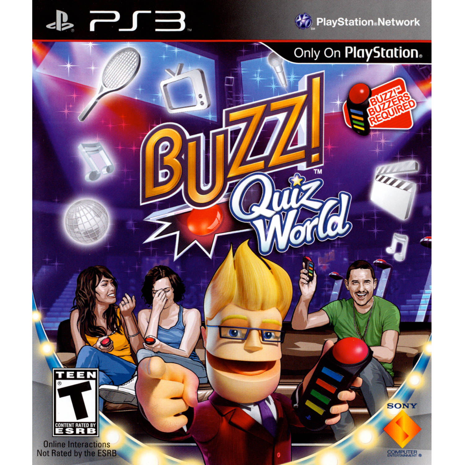 Buzz! Quiz World (Game Only) (PS3) - Pre-Owned