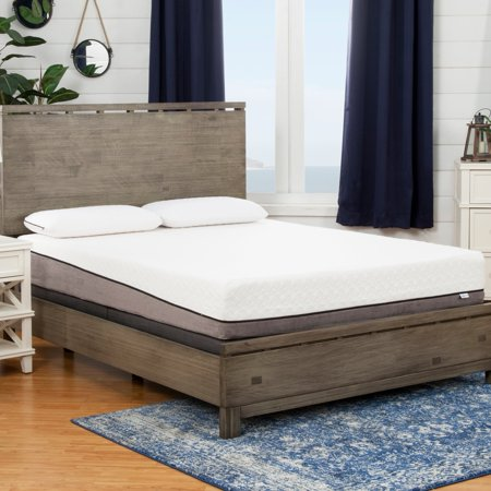 sleep zone huntington 10 inch queen size memory foam mattress. Black Bedroom Furniture Sets. Home Design Ideas