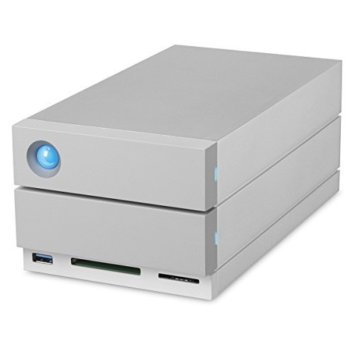 LaCie 2big Dock Thunderbolt 3 2 x HDD Supported 2 x HDD Installed 8 TB Installed HDD Capacity Serial ATA 600... by Seagate