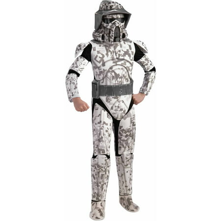 Star Wars Clone Wars Deluxe Arf Trooper Child Halloween Costume - Espn Star Wars Halloween