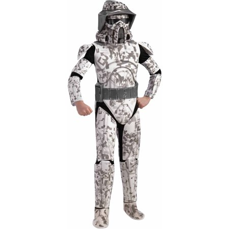 Star Wars Clone Wars Deluxe Arf Trooper Child Halloween Costume - Star Wars Cheap Costumes