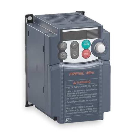 Frequency Drive (FUJI FRNF25C1S-6U Variable Frequency Drive, 1/4 HP, 115VAC )