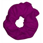 CoverYourHair 61268 Soft Classy Solid Scrunchy, Plum