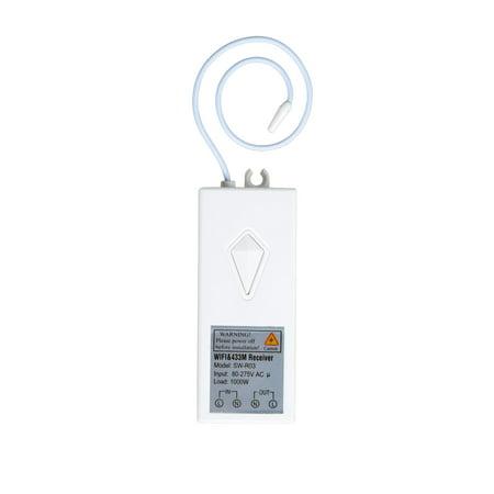 GREENCYCLE 1PK Smart 80-270V Wireless Light WIFI Receiver