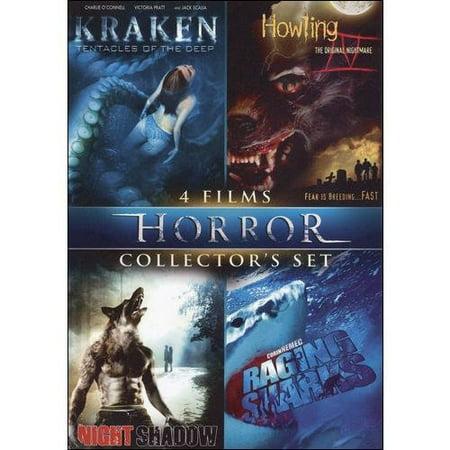 Horror Collector's Set, Vol. 6 - Kraken: Tentacle Of The Deep / Howling IV / Night Shadow / Raging - Days Of Halloween Horror Nights