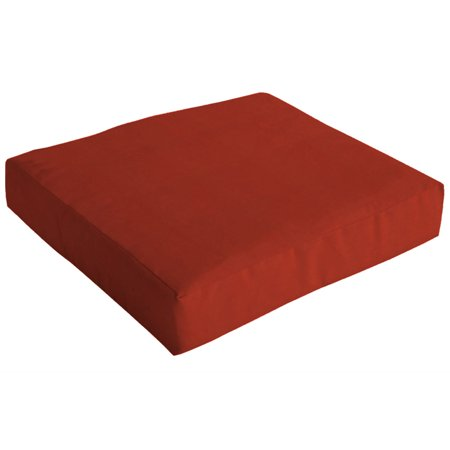 Arden Deep Seat Slipcover For Seat Cushion Red Texture