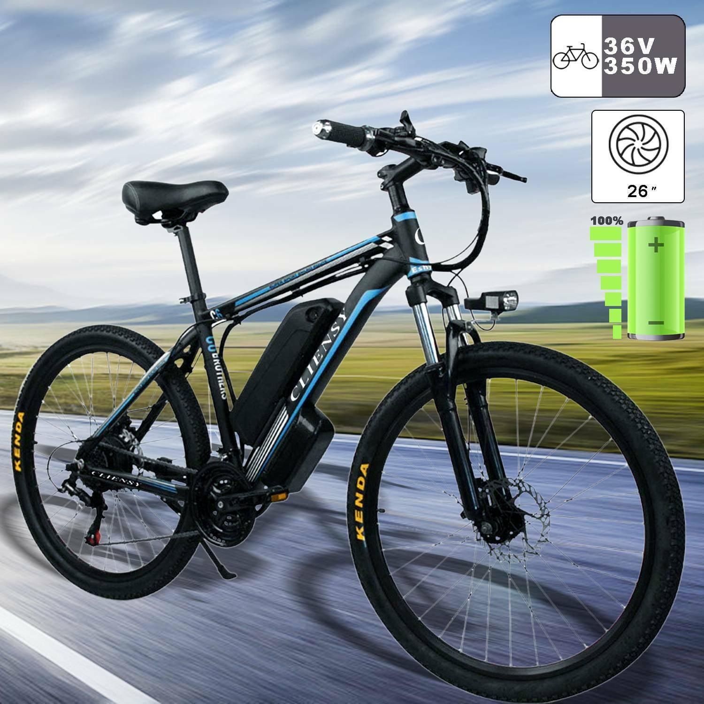 Details about  /26/'/' Electric Bike Folding Mountain Bicycle EBike E-MTB Shimano 21 Speed Gear