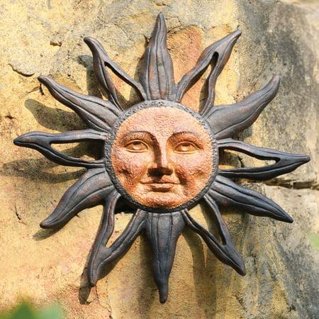 Sun Face Wall Plaque ()