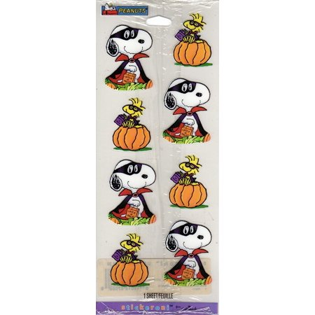 Peanuts Snoopy Woodstock Halloween Scrapbook Stickers (HSS5010) for $<!---->