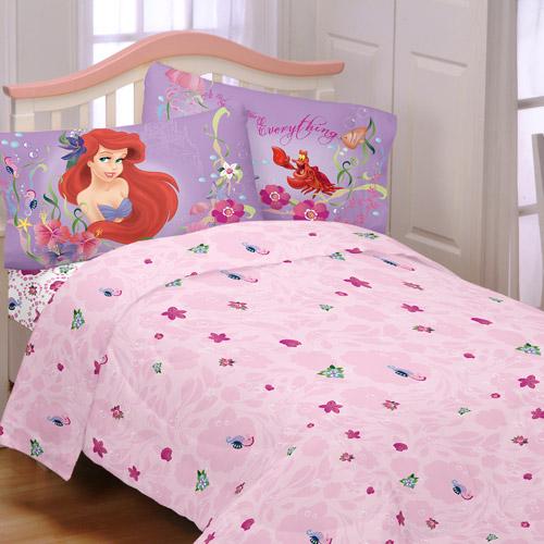 Disney S Little Mermaid Sea Dance Sheet Set Walmart Com