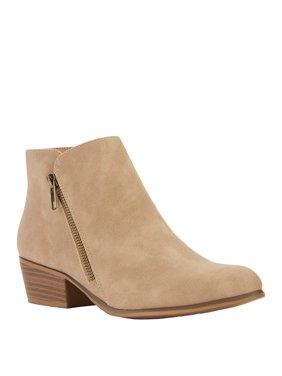 Portland Boot Company Double Zip PU Bootie (Women's)