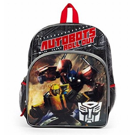 Transformers Autobots Roll Out Backpack with Side Mesh