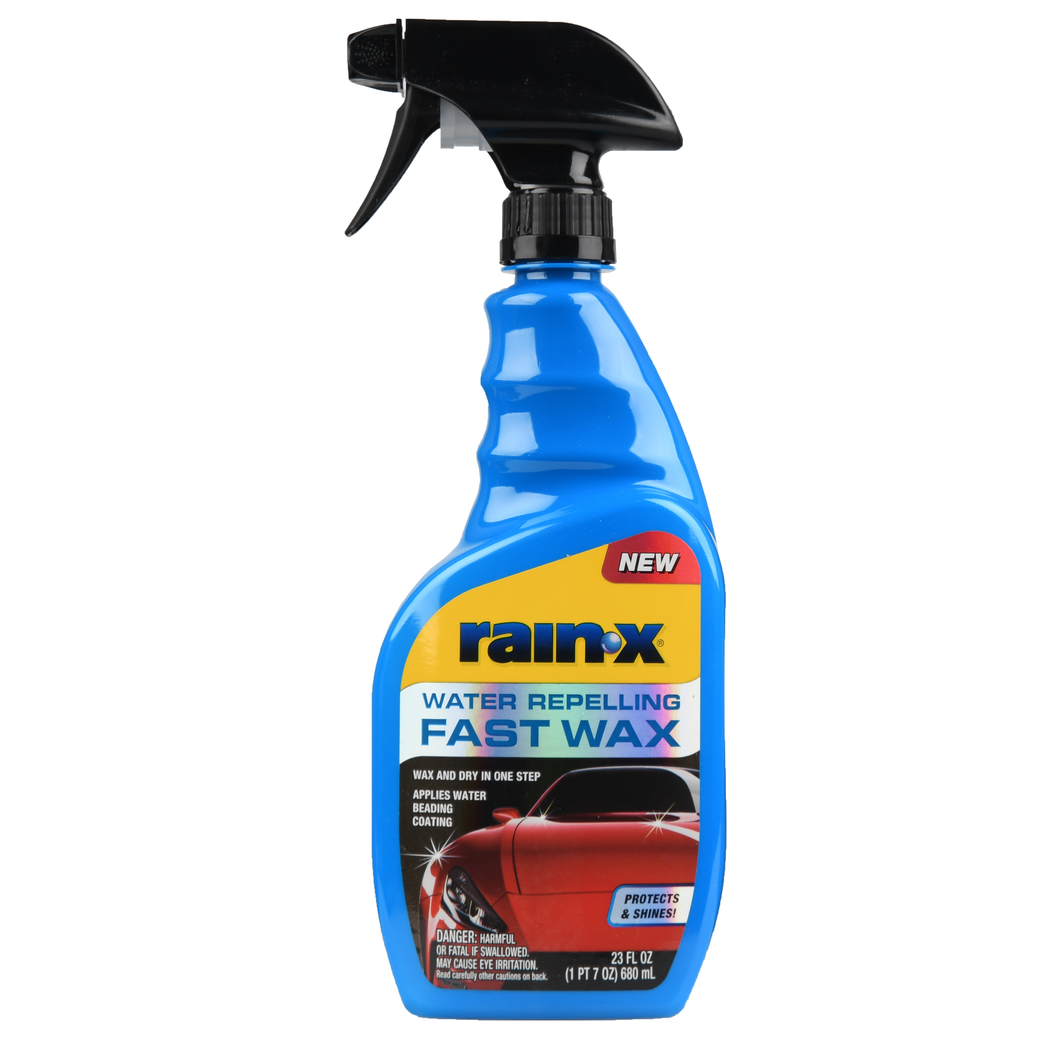 NEW! Rain-X 2-IN-1 Spray Fast Wax and Water Repellent - 620118