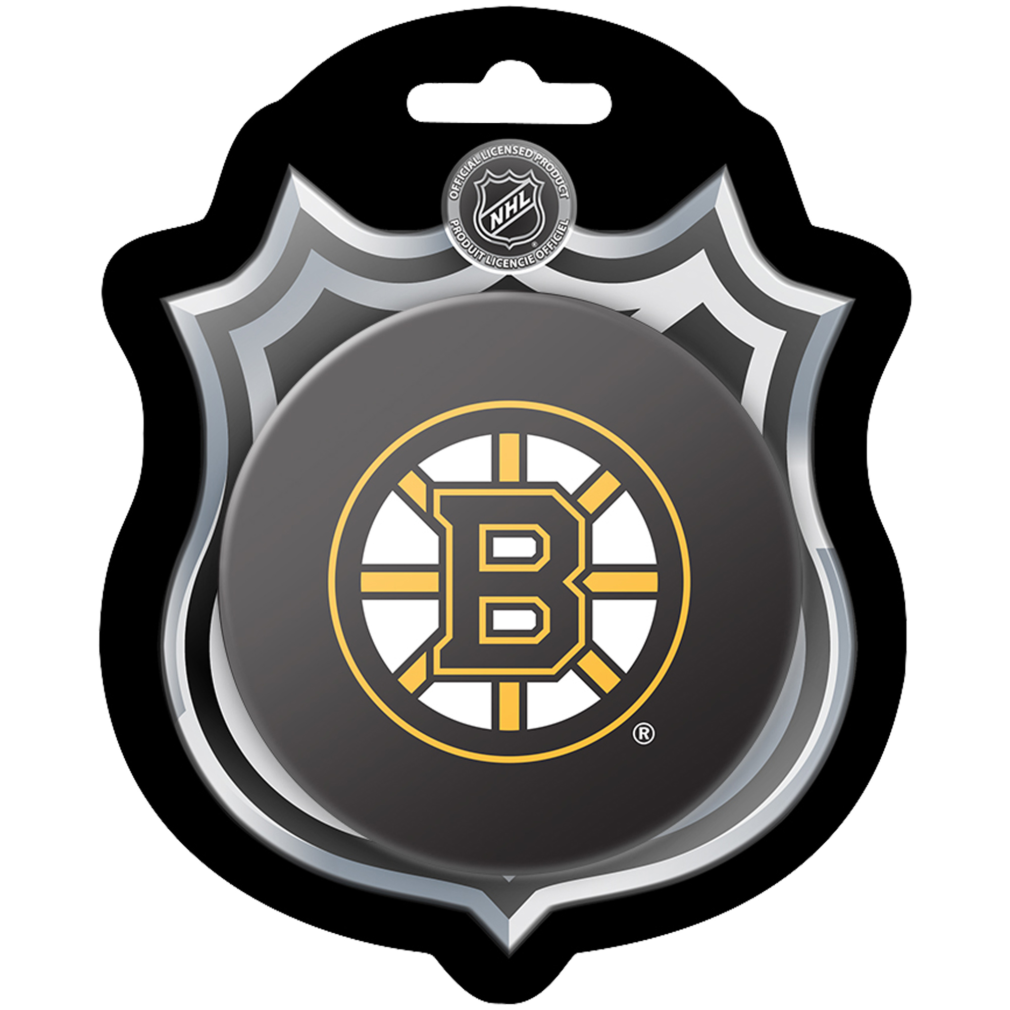 Boston Bruins Sher-Wood Hockey Puck - No Size