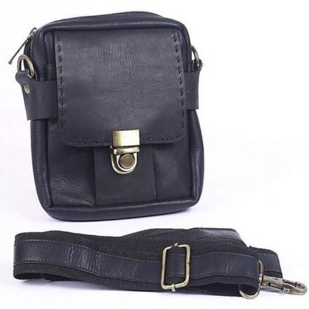 Claire Chase Cowhide Leather Small Man Bag