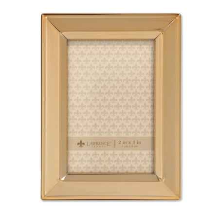 2x3 Gold Metal Picture Frame - Classic Bevel