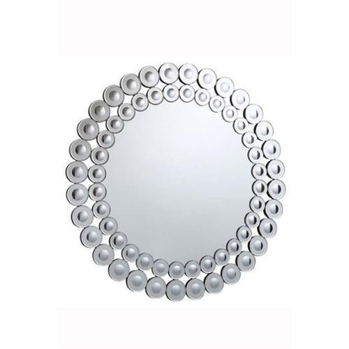 """Elegant Lighting Modern 39"""" Round Decorative Mirror"""