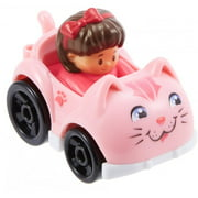Fisher-Price Little People Wheelies Kitty Car