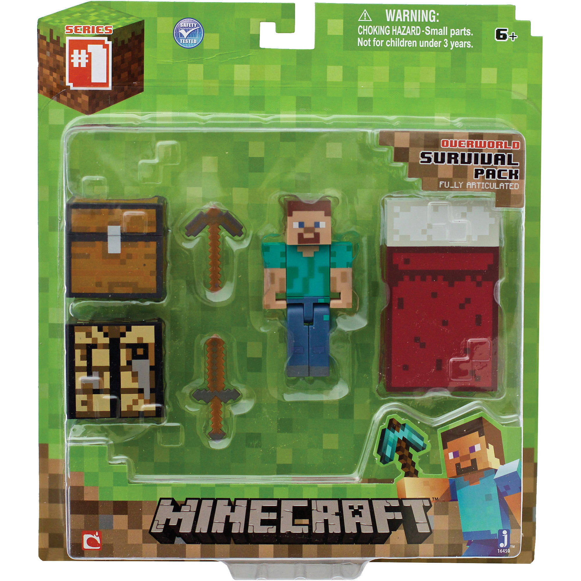 Minecraft Core Player Survival Pack Walmart