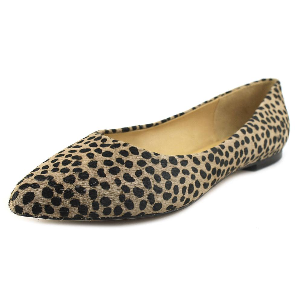 Trotters Estee Women W Round Toe Suede Gray Ballet Flats by Trotters