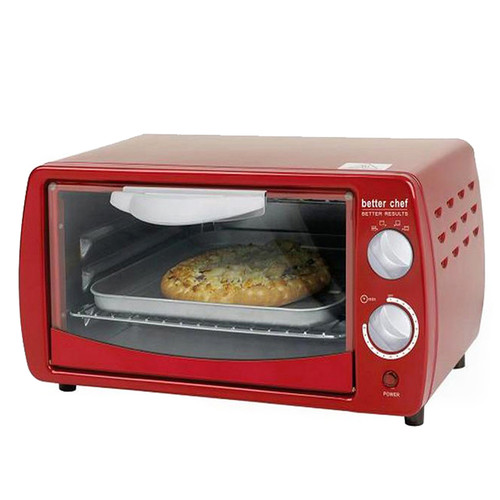 Better Chef Classic Red 9-liter Toaster Oven by Better Chef