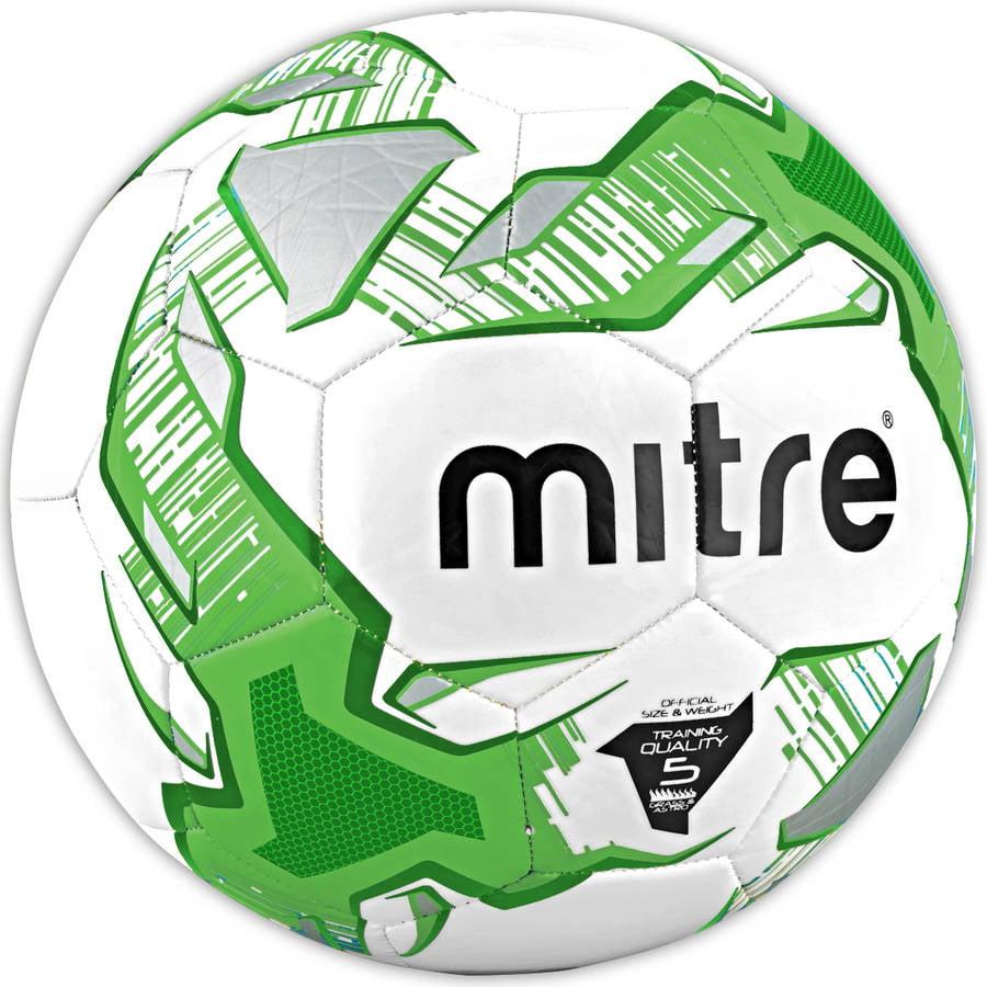 Mitre Impel White/Green/Black Soccer Ball