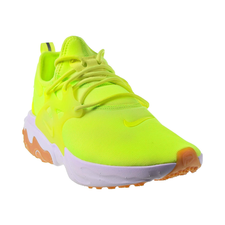 Nike React Presto Men's Shoes Volt-White-Gum Light Brown av2605-702