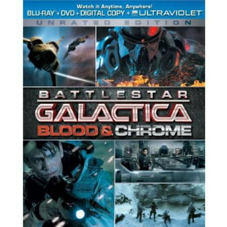Battlestar Galactica  Blood And Chrome  Blu Ray   Dvd   Digital Copy