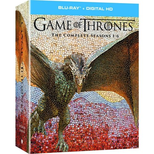 Game Of Thrones: The Complete Season 1-6 (Blu-ray + Digital HD)