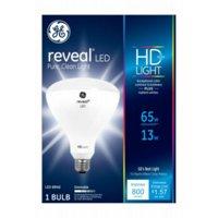 GE LED 13W Reveal BR40 Large Flood Light Bulb 1pk
