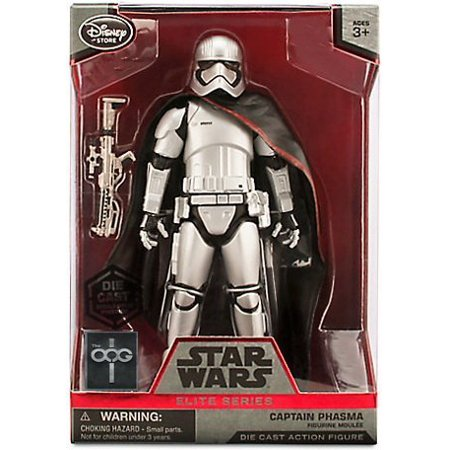 Coast Star (Star Wars Exclusive Captain Phasma Elite Series Die Cast Action Figure - 7 1/4'')