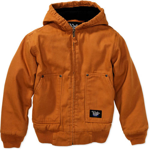 Walls Boys' Sherpa Lined Hooded Jacket