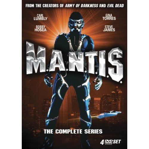 Mantis M.A.N.T.I. S. Complete Series TV Show Collector Box Set Collectible [DVD] [1997] Carl Lumbly