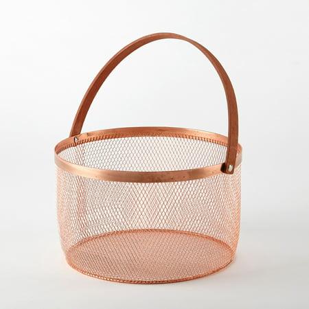 Urban Wire Storage Basket With Handle