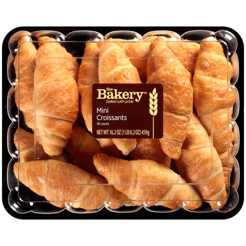 The Bakery at Walmart Mini Croissants, 18 ct, 16.2 oz by Wal-Mart Stores, Inc.