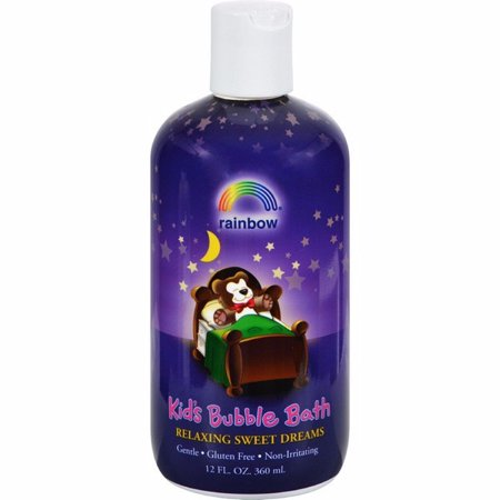 Rainbow Research Organic Herbal Bubble Bath For Kids Sweet Dreams - 12 Fl (Organic Herbal Bath Bags)