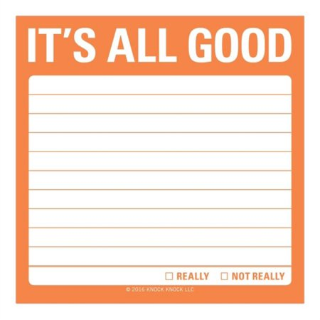 Itz Notes - ITS ALL GOOD STICKY NOTE