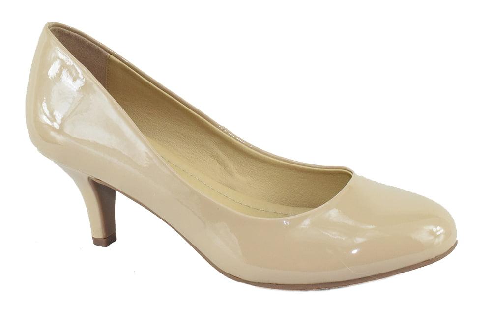 City Classified Comfort Women Classic High Heel Pumps -9530