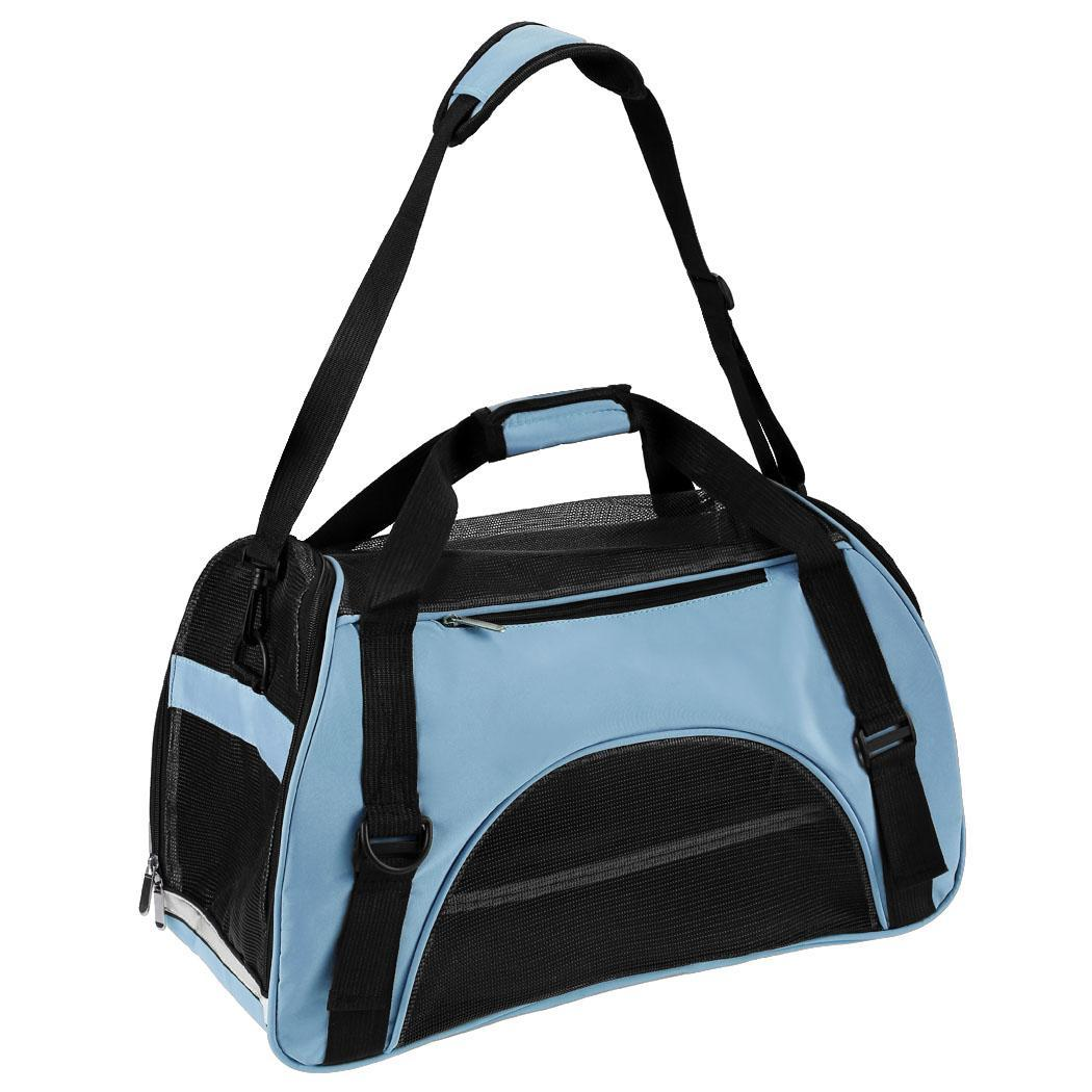 Black Friday Clearance! Airline Approved Portable Pet Carrier Tote Bag, Soft-Side Travel Handbag Shoulder Bag for Pets Cat and Dog Dailydeal