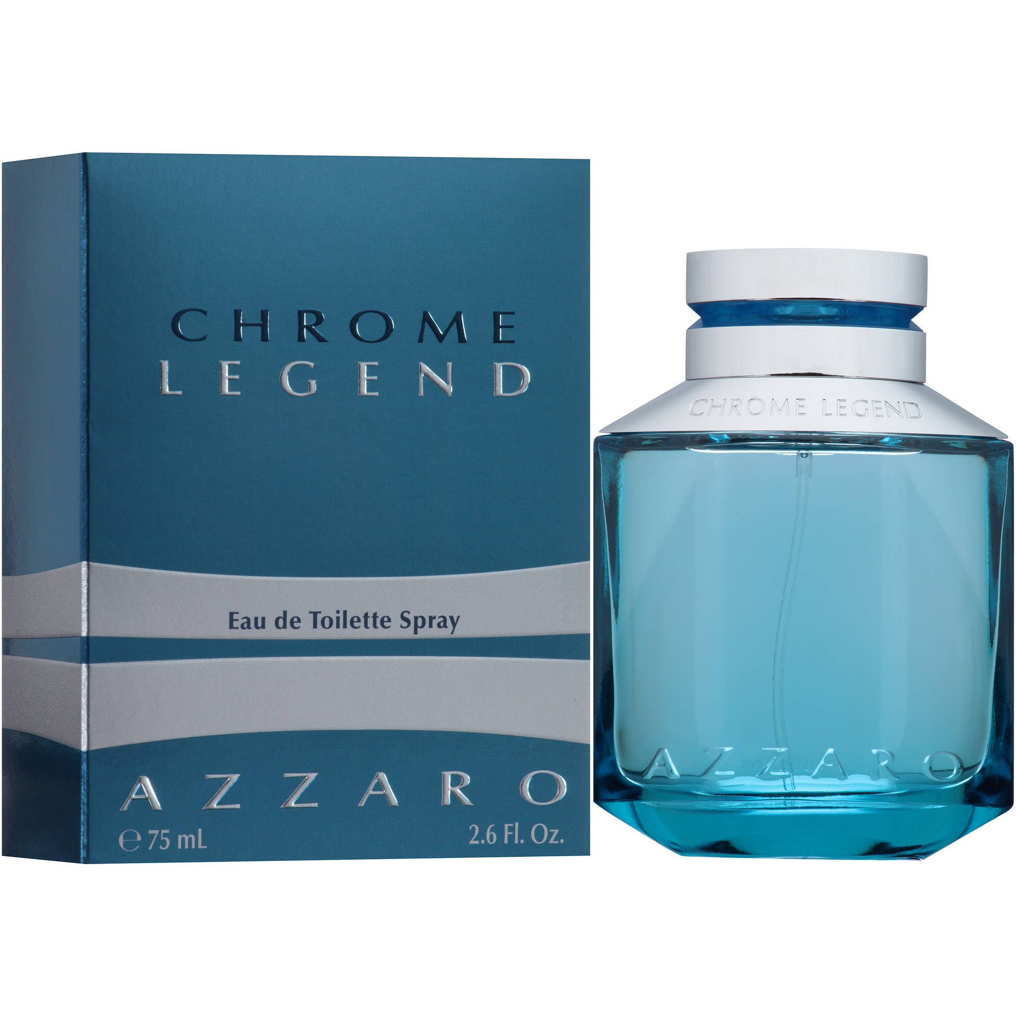 Azzaro Chrome Legend Men's Eau de Toilette Spray, 2.6 fl oz