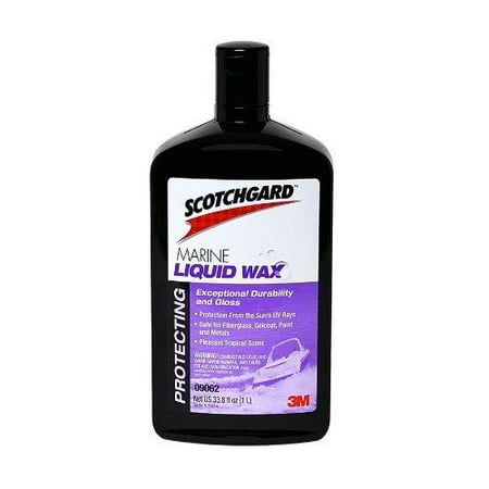 Scotchgard Marine Liquid Wax, 1 Liter, 1 Bottle